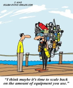 All scuba equipment needs servicing